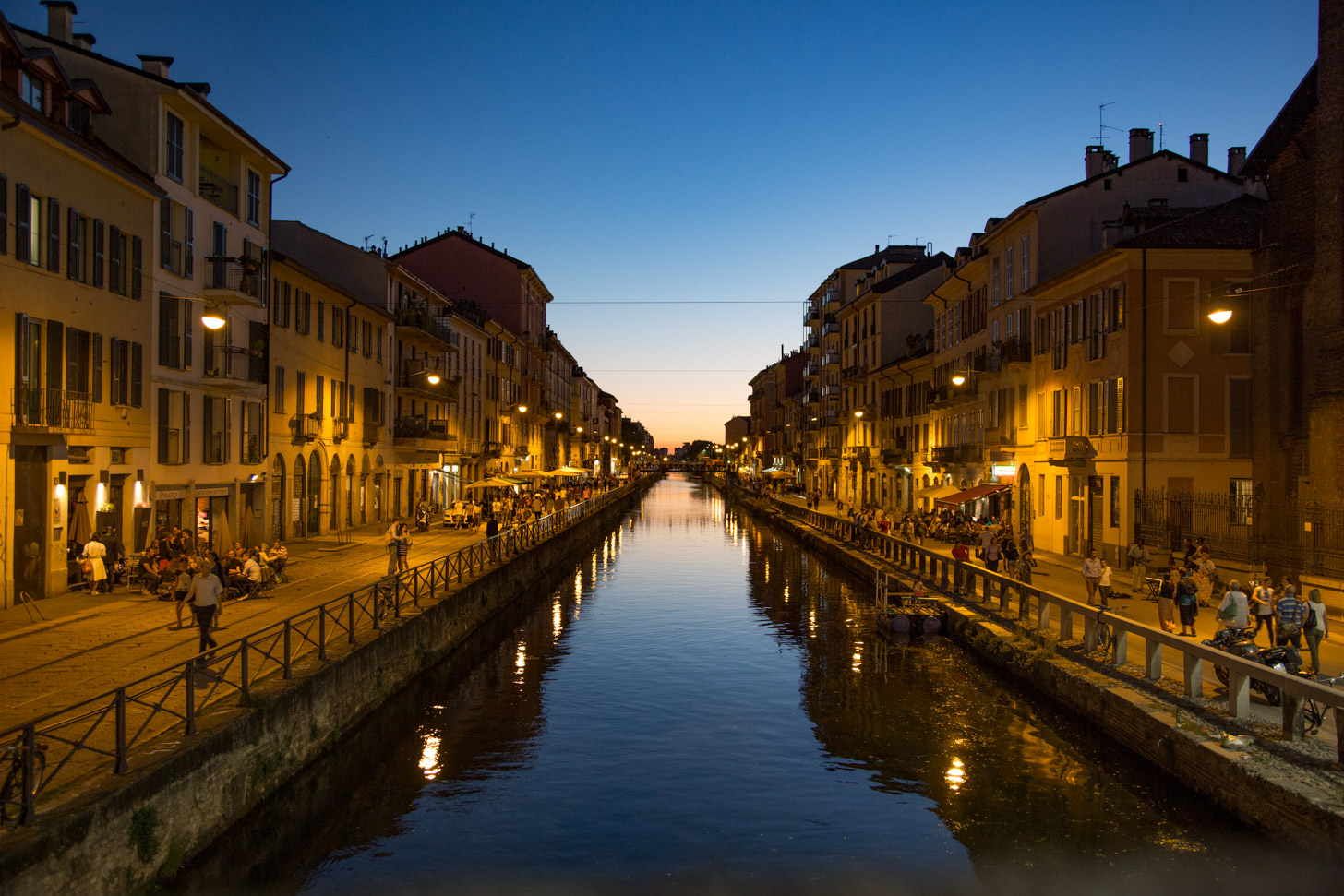 Kanaal in Navigli