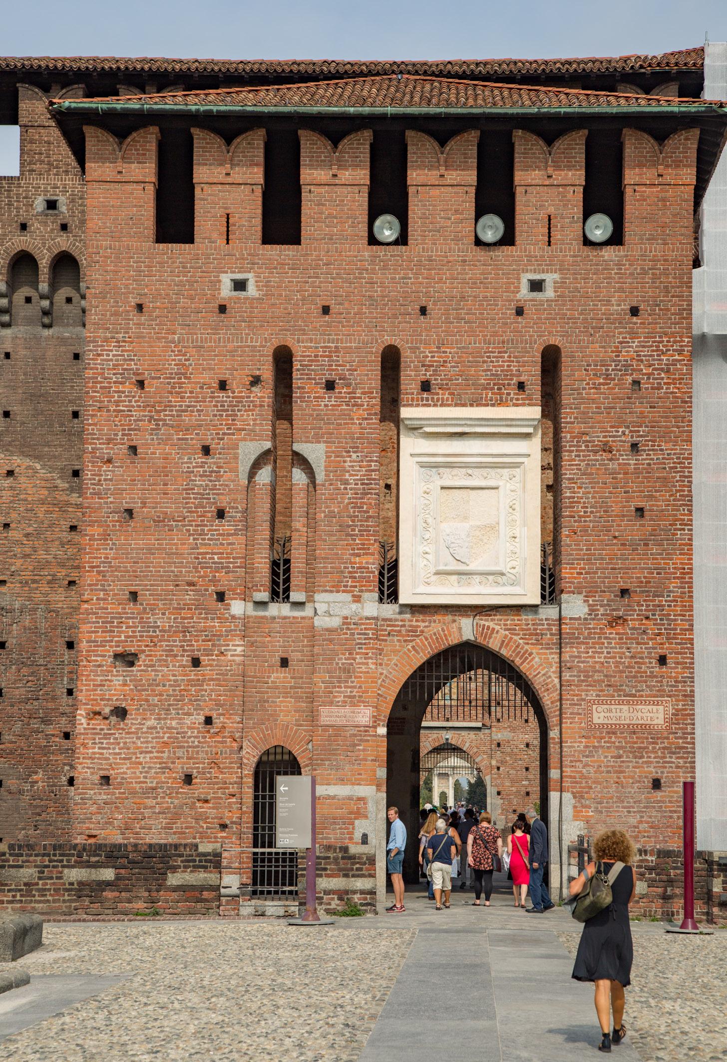 Musea in het Castello Sforzesco