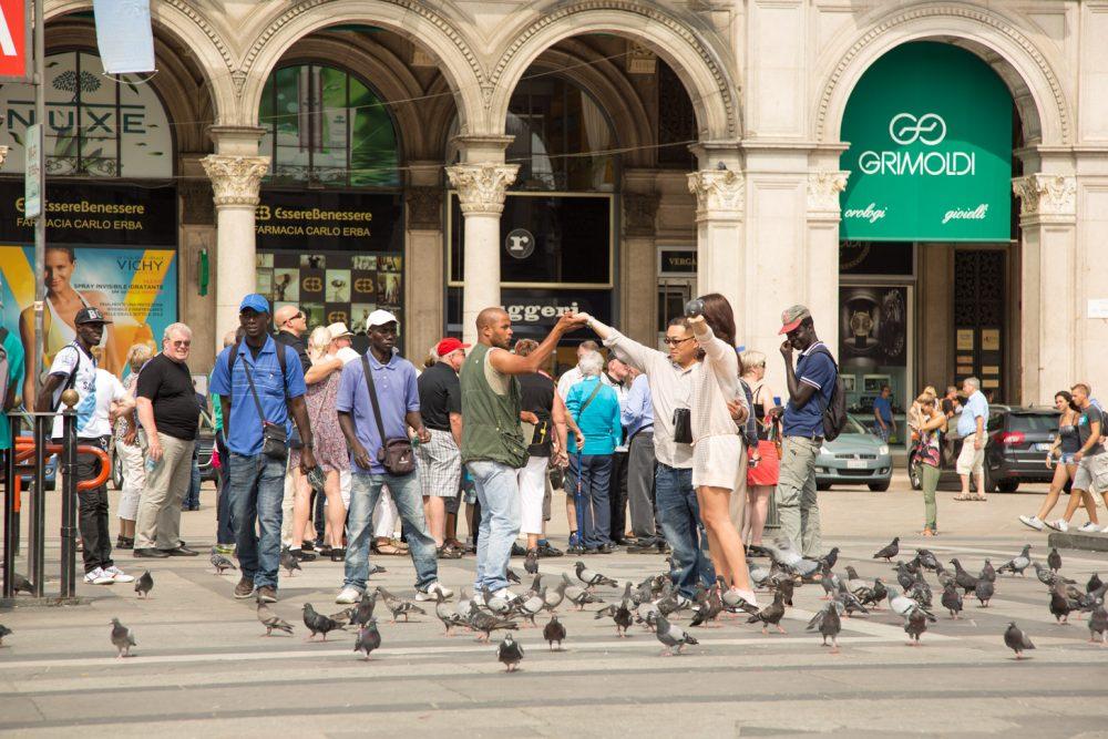 In Milaan zijn er meerdere manieren om van je geld af te komen zonder dat je dat wilt.