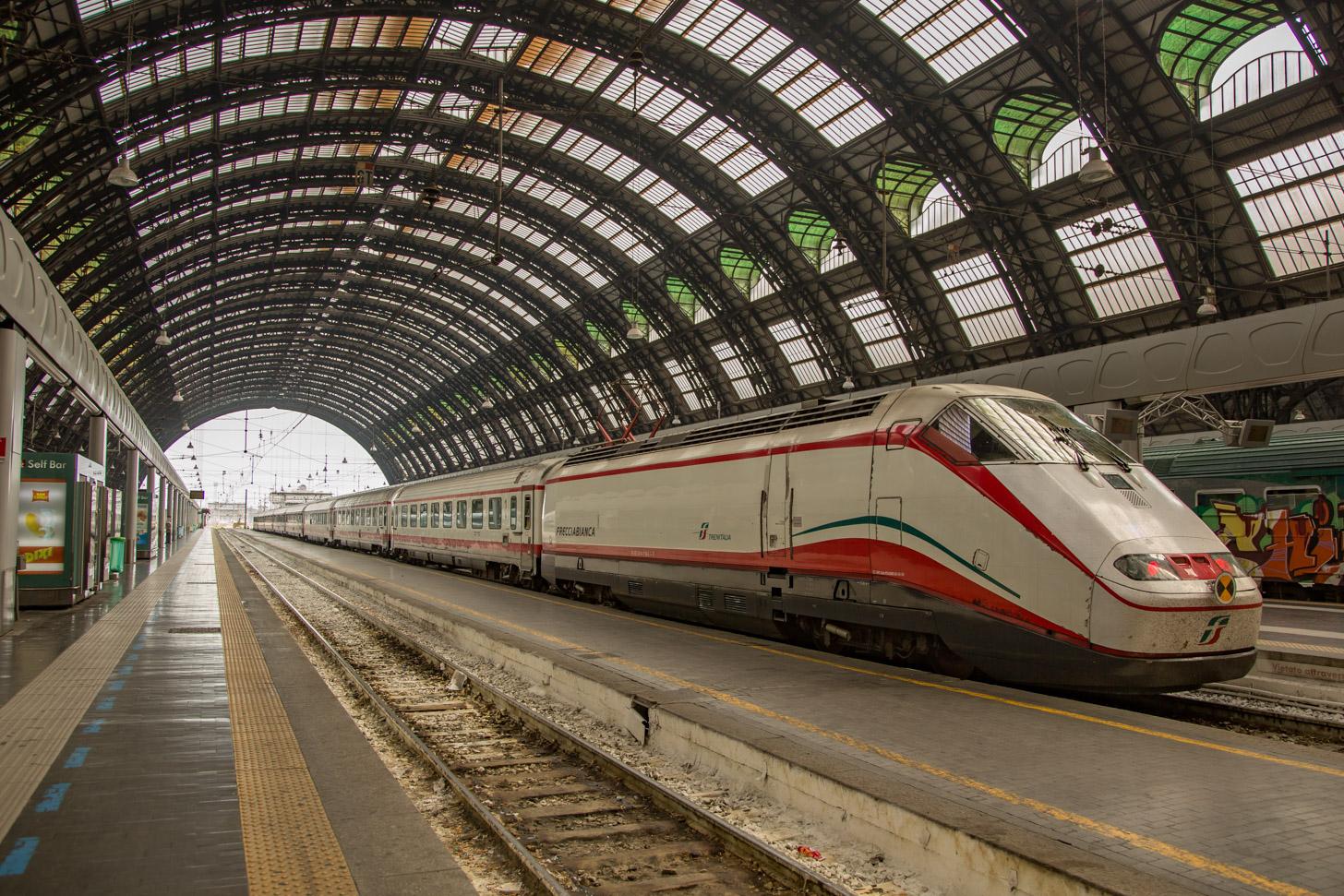 Met de trein naar Milaan reizen
