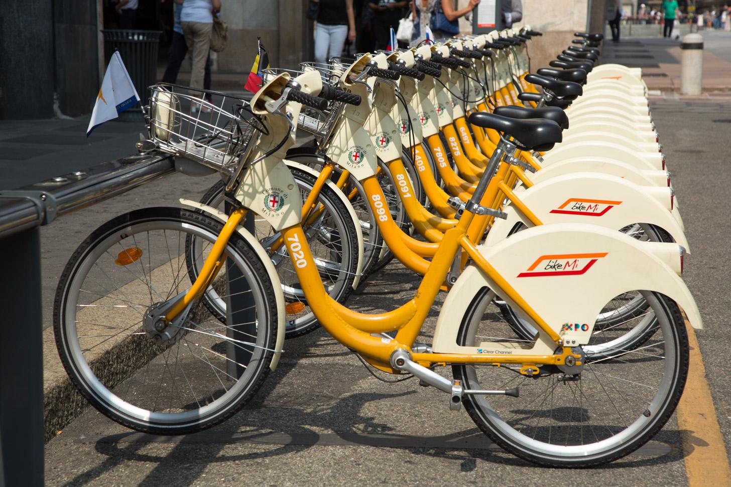 De voordelige fietsen die je kunt huren bij onbemande fietstations.