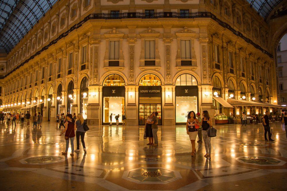 Galleria Vittorio Emanuele II is de mooiste passage van Milaan.