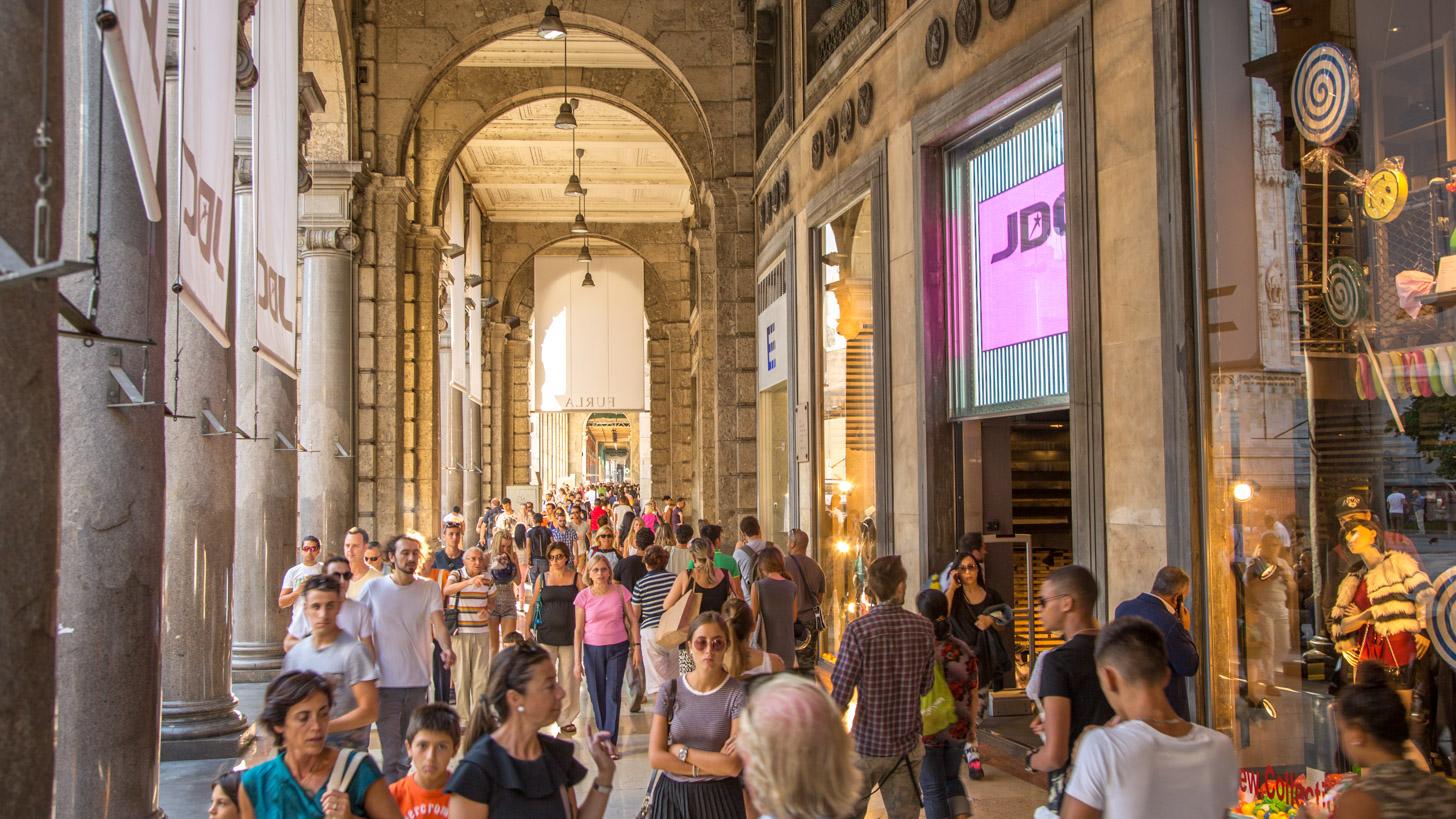 Milaan als economisch hart